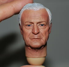 ██ ELEVEN Michael Caine 1/6 Head Sculpt for Custom Hot Toys Alfred Body ██