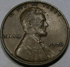 1936/1936 DDO #1 Lincoln Cent Choice EF-AU...Scarce Bold Overdate & So Very NICE