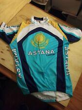 Trek Team Astana Medium Cycling Shirt/Jersey Pristine Condition