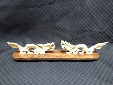 carved bone dragon