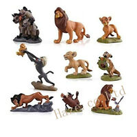 The Lion King Figures Collection Movie Simba Toy Doll 9pcs/set Cake Topper VVV