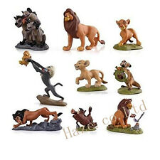 The Lion King Figures Collection Movie Simba Kid Doll 9pcs/set Cake Topper Gift