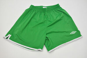 Youth UMBRO Green Soccer Shorts Medium 100% Polyester