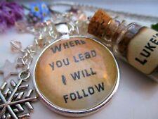 Gilmore Girls Bookmark - Follow - Jewellery - Love - Chain - Silver