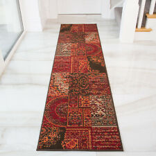 Traditional Red Carpet Runner | Long Hallway Runners | Contemporary Hall Runner