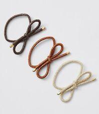 Bow Elastic Hair Ties