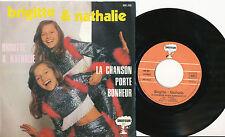 BRIGITTE ET NATHALIE 45TOURS FRANCE LARRY GRECO JUMELLES TWINS FRENCH KIDS GIRLS