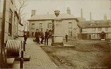 Halesworth. Market Place. Water Pump.