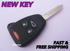 OEM CHRYSLER DODGE JEEP master keyless entry remote fob transmitter+NEW KEY CASE