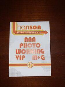 Hanson Unused Option Sticky Pass
