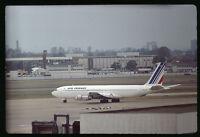 Orig 35mm airline slide Air France 707 F-BLCK [212-1]