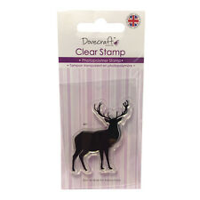 TAMPON CLEAR STAMPS CERF STAG MONTAGNE ANIMAUX LIBERTÉ SCRAPBOOKING CARTE SCRAP