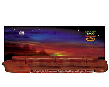 Lemax 44809 4-FOOT DISPLAY MATERIAL Spooky Town Landscape Accessory Base HTF I