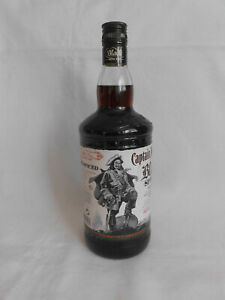 Captain Morgan Black Spiced  Rum  1l Flasche 40% Neu