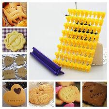 1set Biscuit Cookie Fondant Cake Alphabet Number Stamp Mold Cake Decorating Tool