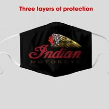 Indian motorcycle cloth face mask 3d one size