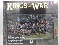 Kings of War 2nd Edition MGKWU111 Undead Mega Army Skeleton Zombie Infantry NIB