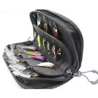 Perfeclan Fishing Spoon Lure Tackle Bag Case Spinner Box for Vest Backpack
