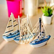 Classic Nautical Decoration Cloth Sailboat Model Flag Table Ornament Reliable