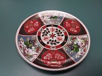 "Imari Vintage Japanese Porcelain Gold Plate 8 3/8"""