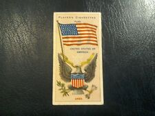 J. PLAYER. 1905.-1912.  COUNTRIES  ARMS  &  FLAGS . 1 ODD CARD   NUMBER 4.