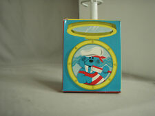 Vintage Avon Wally Walrus Toothbrush Holder and Toothbrushes Nib