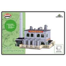N Scale Building Kit - Paint Factory