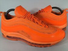 Nike Air Max 97 Hyperfuse Total Orange Mens Size 9.5 Rare 518160 880 Running