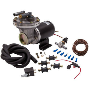 """Electrical Vacuum Pump Kit for Brake Booster 12 V 18"""" ~ 22"""" for GM Chevy Ford"""
