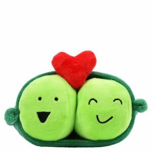 Plush Soft Gift - Two Peas in a Pod - One for you and one for a loved one (9953)