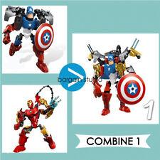 Marvel Super Hero Series Mashers Action Figure Avengers Superhero Toy Iron Man The Hulk
