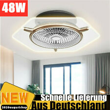 LED Deckenventilator Beleuchtung Acryl Lüfterflügel Fan Licht mit fernbedienung