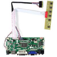 "HDMI VGA DVI Audio LCD Driver Board For 15.6"" LP156WH2 TL B156XW02 1366x768 LCD"