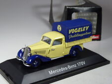 Schuco Mercedes 170 V Pritsche Vogeley Pudding in 1:43 in OVP
