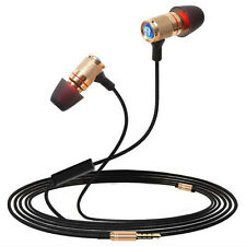 3.5mm In-Ear Earphone Super Bass Headphone Stereo Headset Earbuds With Mic