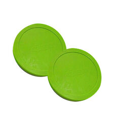 """Valley-Dynamo Air Hockey Table Puck - Fluorescent Green - 3-1/4"""" - Set of 2"""