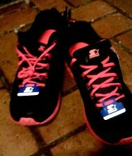 STARTER - Men Size 12 BLack/Red PREMIUM Athletic Running Shoes SPECIAL