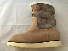 NEW Australia Luxe Collective YVENT BOOT, SHEEPSKIN, Horse Print, Size 5 $285