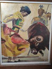 peinture corrida François Roux 1959