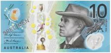 NEW $10 2017 General Prefix Next Gen Consecutive Pair 2 UNC Polymer Banknotes
