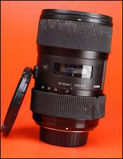 Sigma 18-35mm F1.8 DC ART Lens-Nikon Fit-venduto con anteriore e posteriore dell'obiettivo CAPS