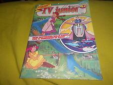 TV JUNIOR  ANNO 2  NUMERO   47  1980 ANNA DAI CAPELLI ROSSI ASTRO ROBOT  INSERTO