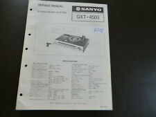 Original Service Manual Schaltplan Sanyo GXT 4503