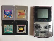 Game Boy Color Atomic Purple Zelda Bundle W/ Extras (Fast Free Ship Day Of!)