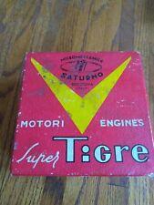 Rare 1960 Super Tigre G20/15  r/c Model Airplane Diesel Engine with box