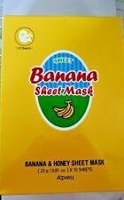A'pieu Banana Sheet Mask--BOX OF 10 MASKS--FREE SHIPPING