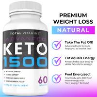 Keto Advanced 1500 Ketonegix BHB Weight Loss Exogenous Ketones 360 Rapid Ketosis