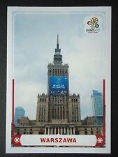 Panini 12 Spielort Warszawa EM 2012 Poland - Ukraine