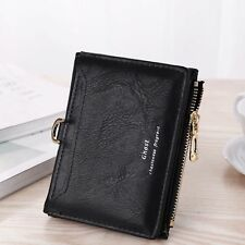 Fashion Women Lady Leather Mini Wallet Card Holder Zip Coin Purse Clutch Handbag