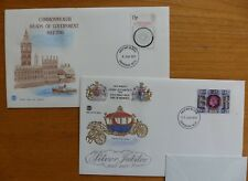 First Day Covers - 2 No. - Commonwealth Mtg & Silver Jubilee - 8/6/77 & 15/6/77
